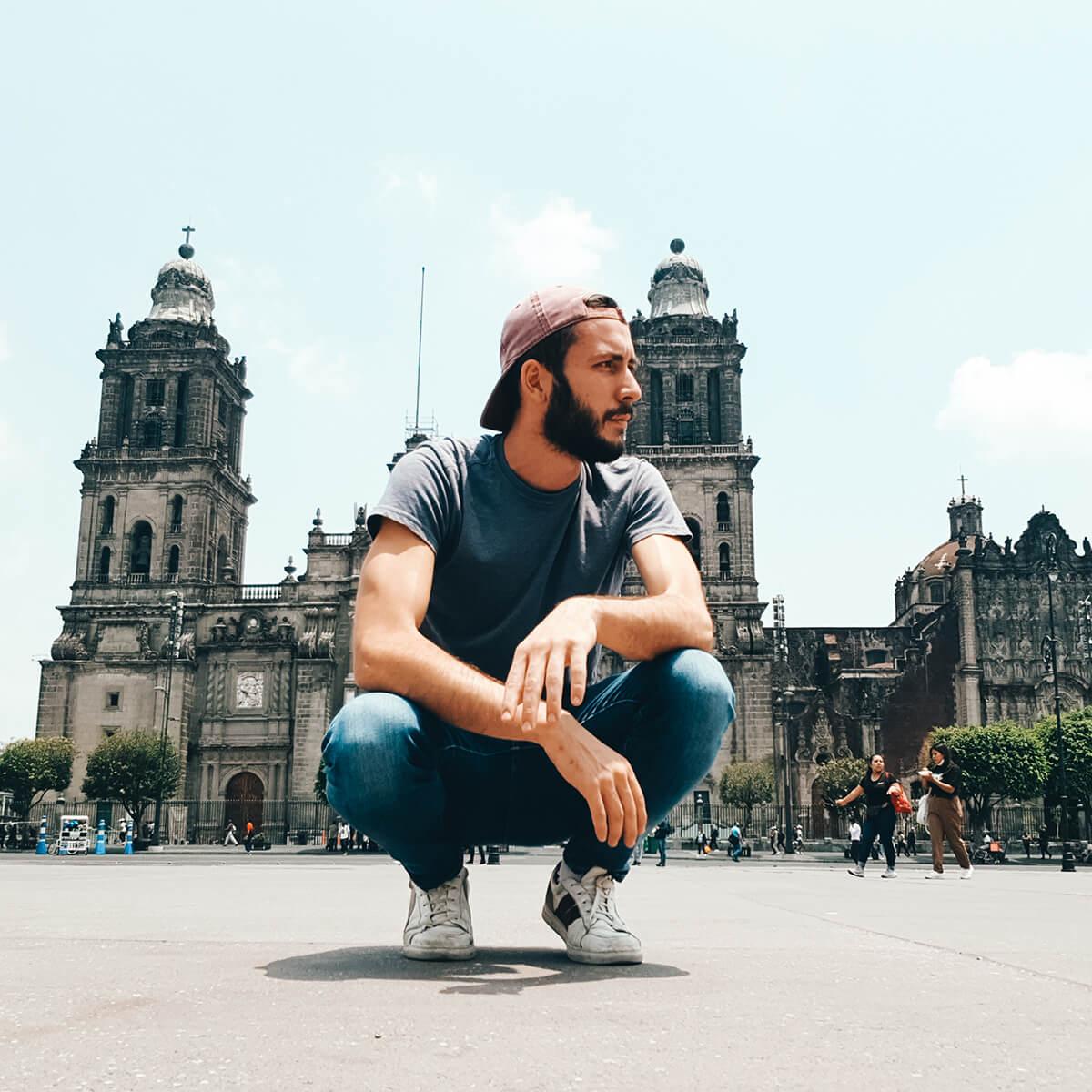 Ulysse Lubin à Mexico City