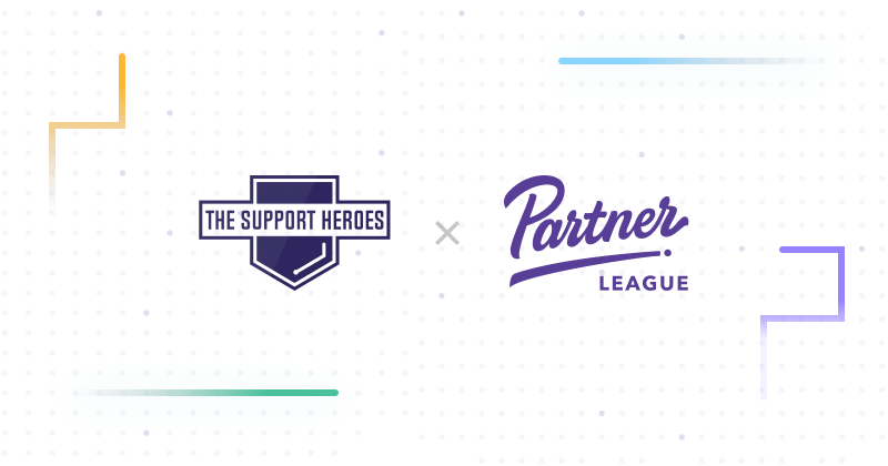 Sponsorship Announcement: The Support Heroes partners with Partner League