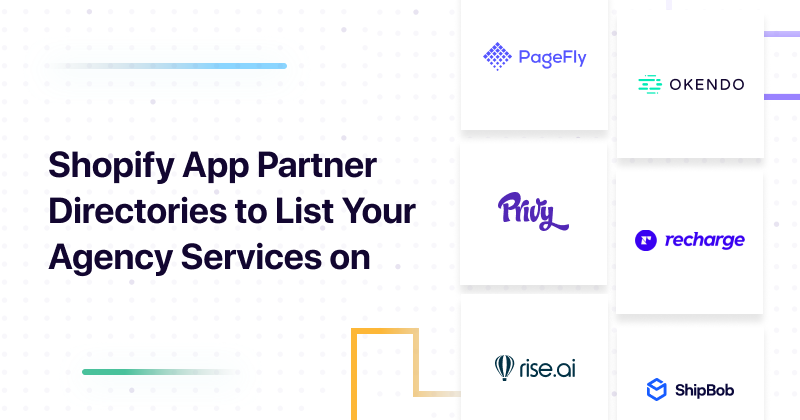 Shopify App Partner Directories to List Your Agency Services on