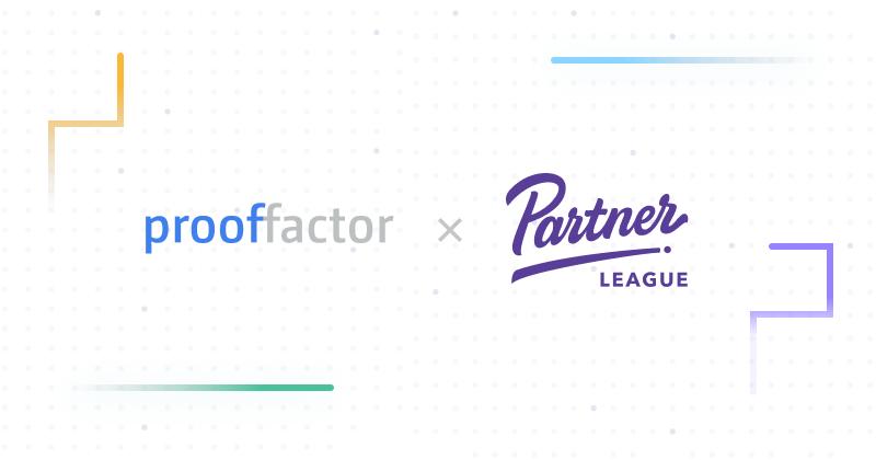 Sponsorship Announcement: Proof Factor partners with Partner League