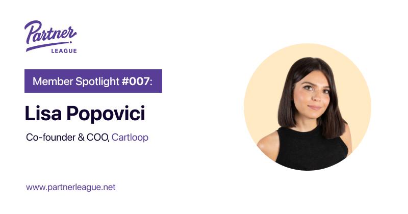 Member Spotlight: Lisa Popovici, Founder - Cartloop