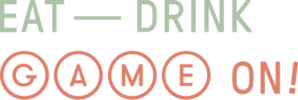 Eat - Drink - GAME ON! logo