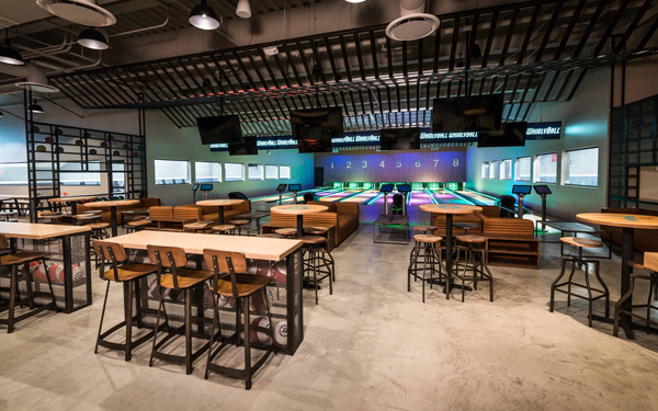 Bowling alley in Naperville WhirlyBall