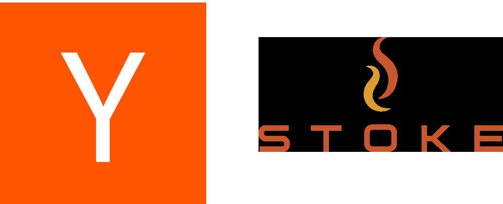 Y-Combinator Logo and STOKE logo