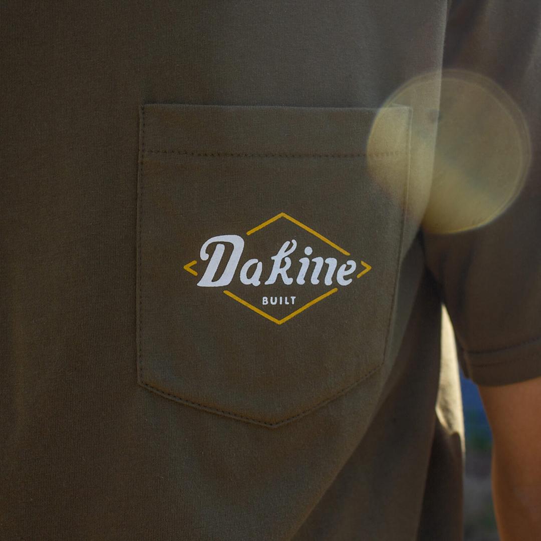 Dakine built lock up apparel graphic design