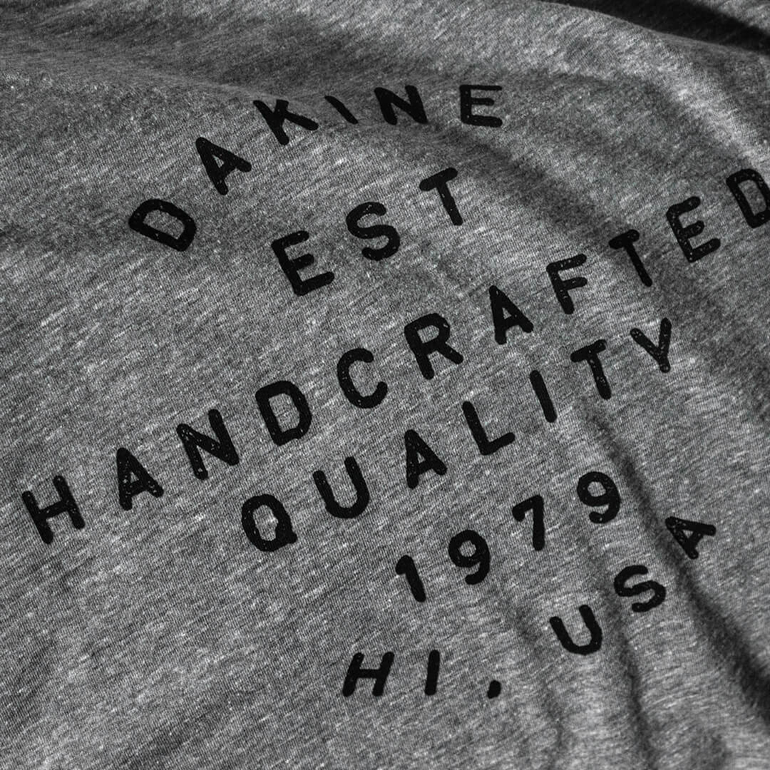 Dakine handcrafted quality apparel t-shirt graphic design