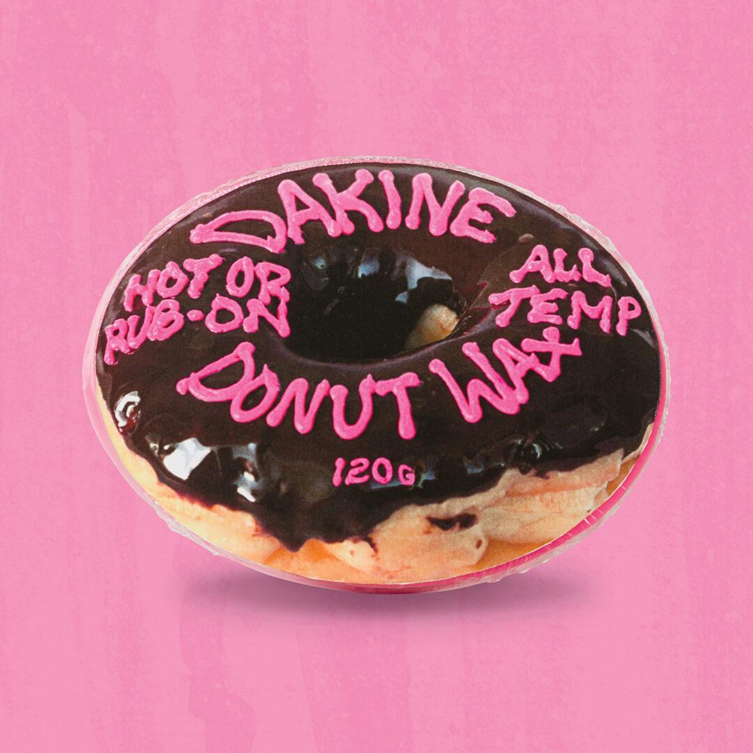 Dakine donut ski and snowboard wax graphic design