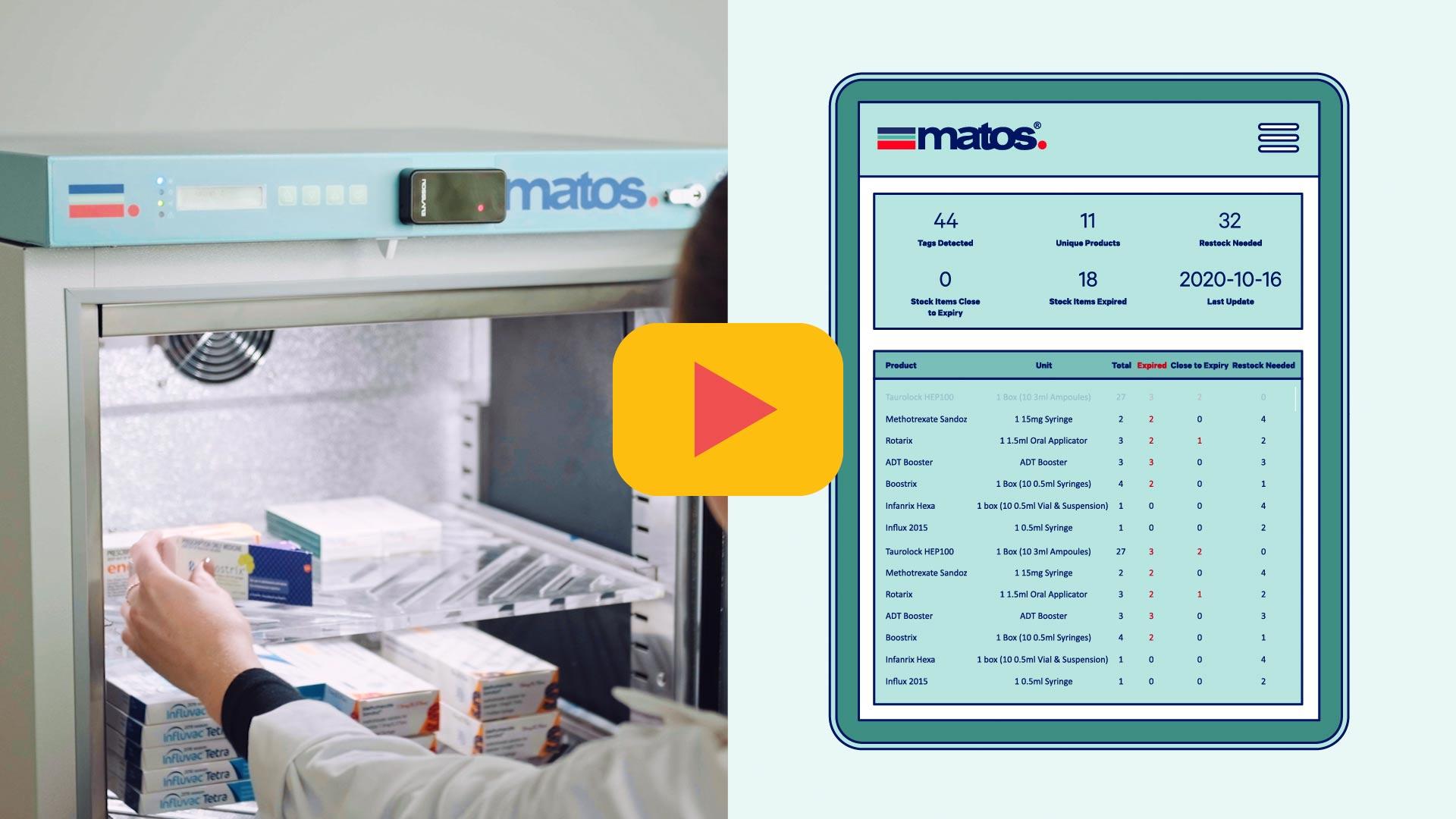 Rollex Medical Matos Fridge