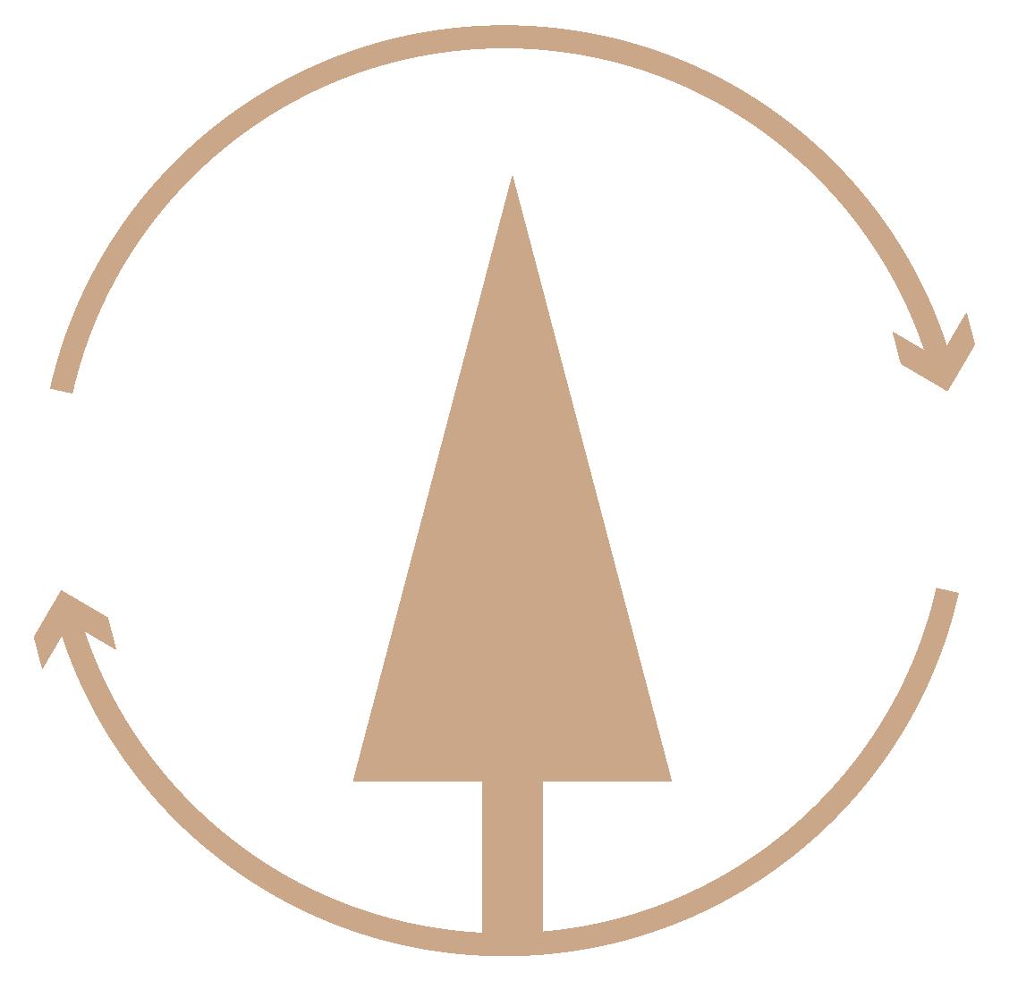 Renewable Tree Icon