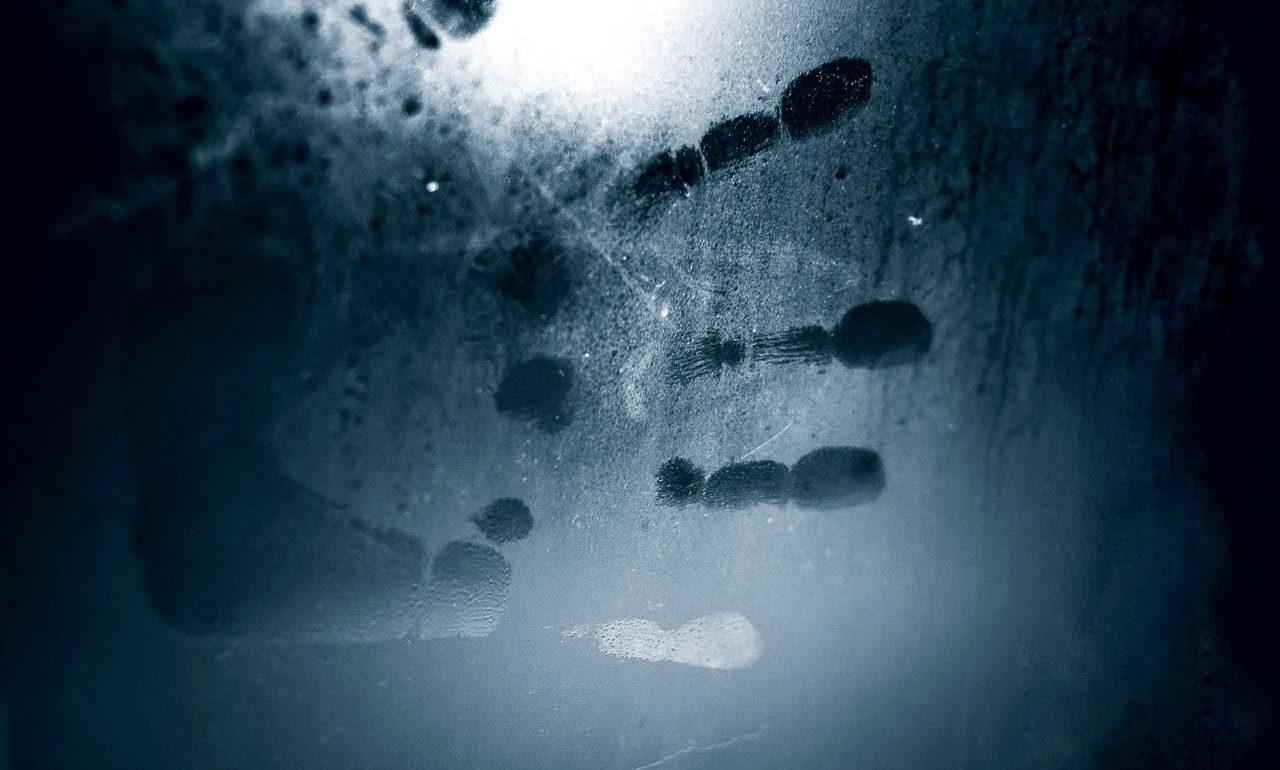Fingerprint on surface