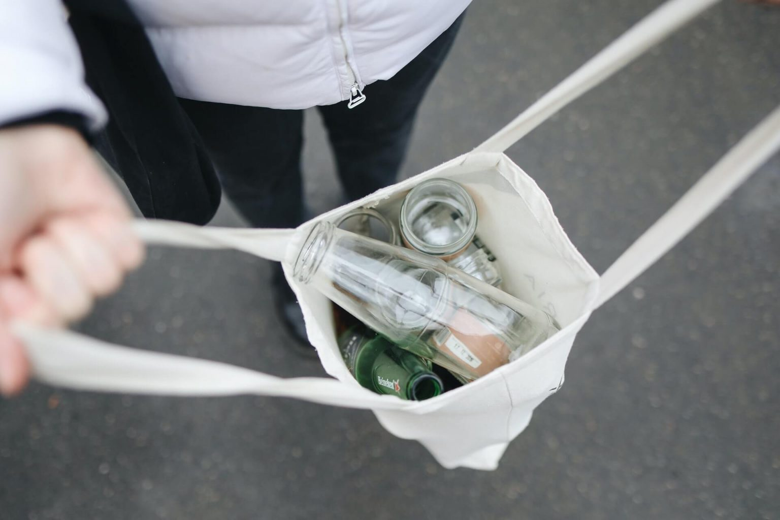 Travel responsibly by using reusable bags