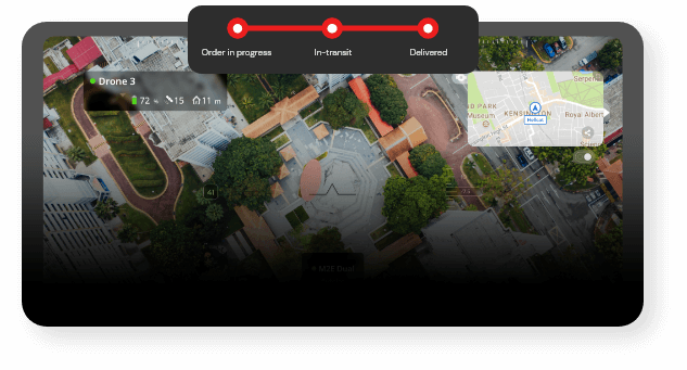 FlytZip drone delivery tracking