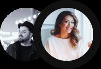 Sara & Mir - Co-Founders, Journ
