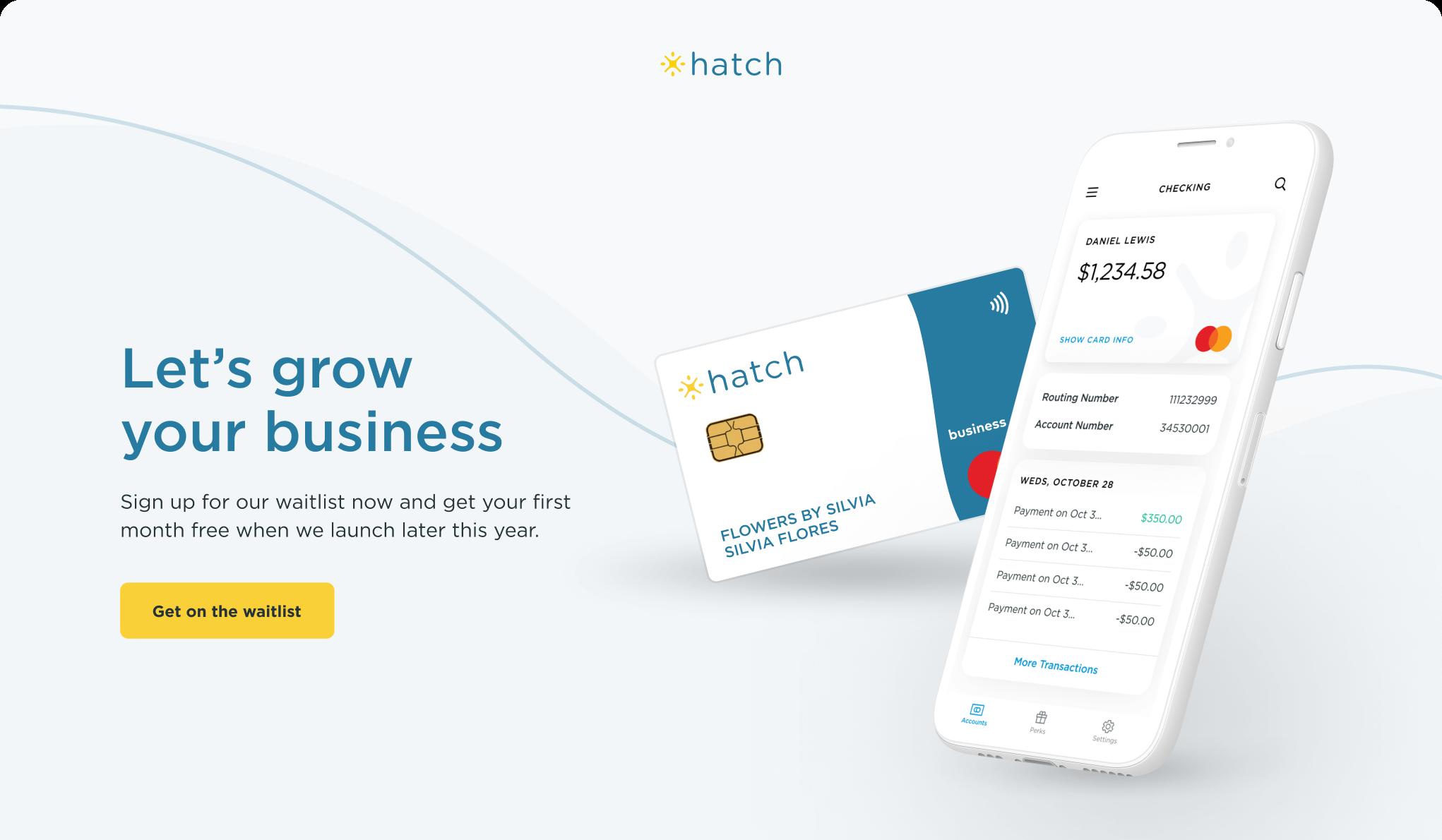 Hatch Homepage Graphic