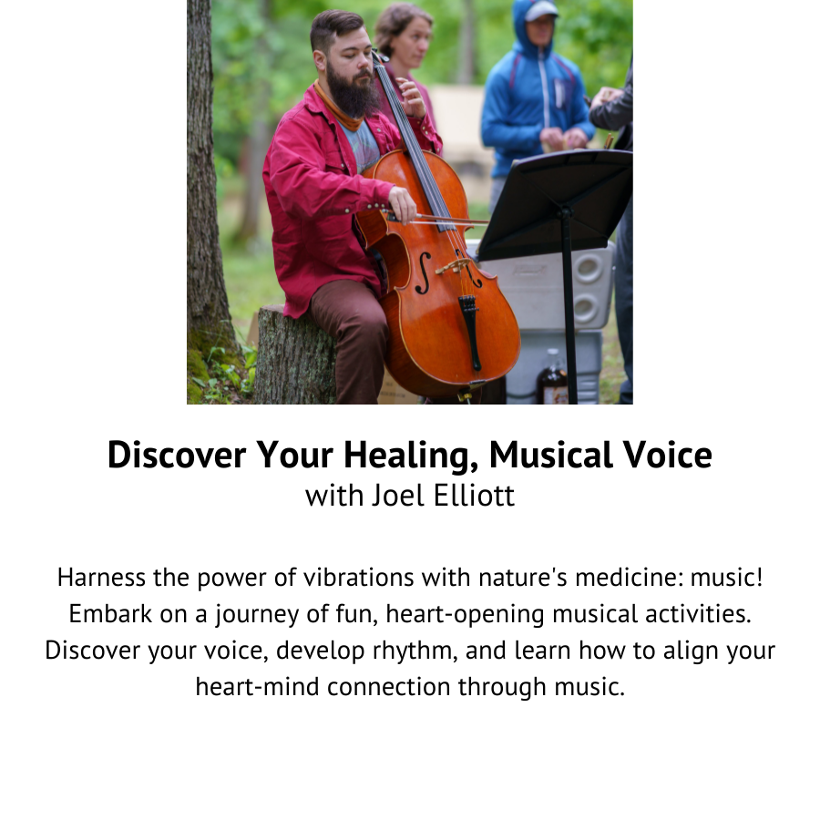 Discover Your Healing, Musical Voice with Joel Elliott.