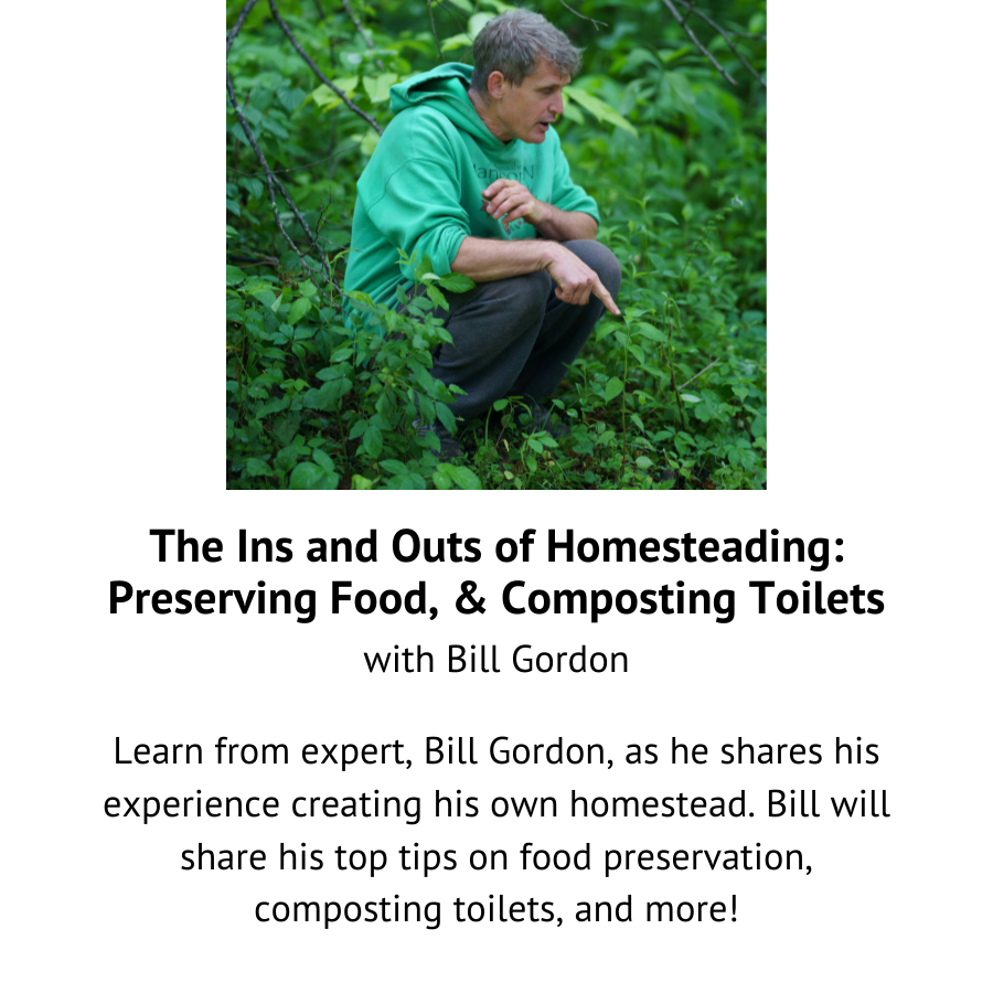 The Ins and Outs of Homesteading with Bill Gordon.