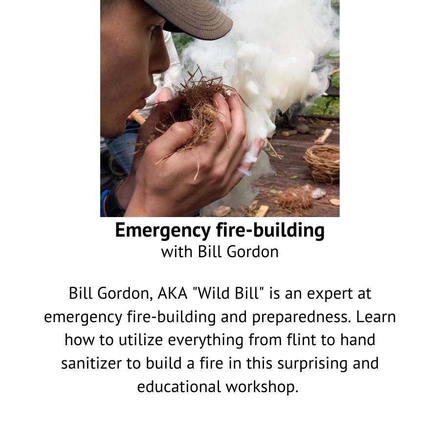 Emergency Fire Building with Bill Gordon.