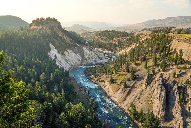 Scenic view of Idaho.