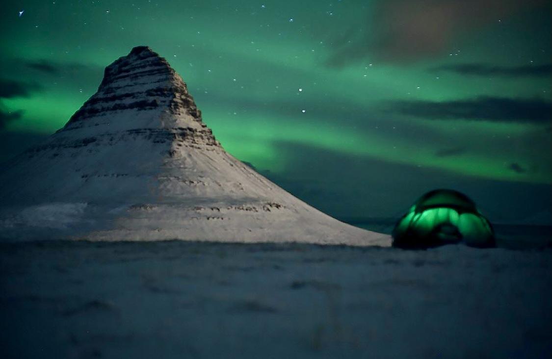 Exploring Iceland.
