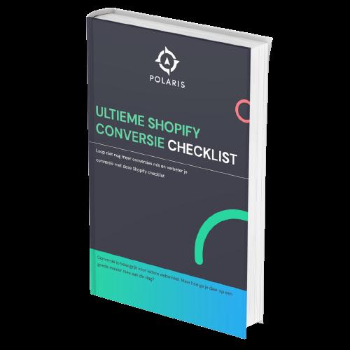 Ultieme Shopify Conversie Checklist