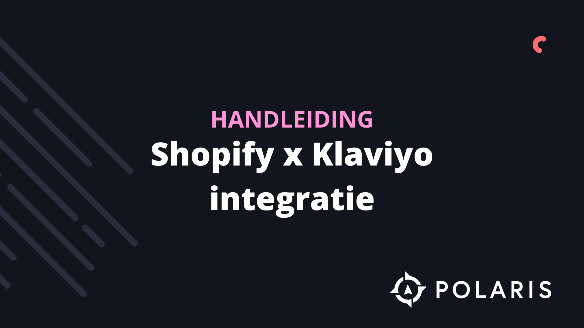 Shopify x Klaviyo integratie
