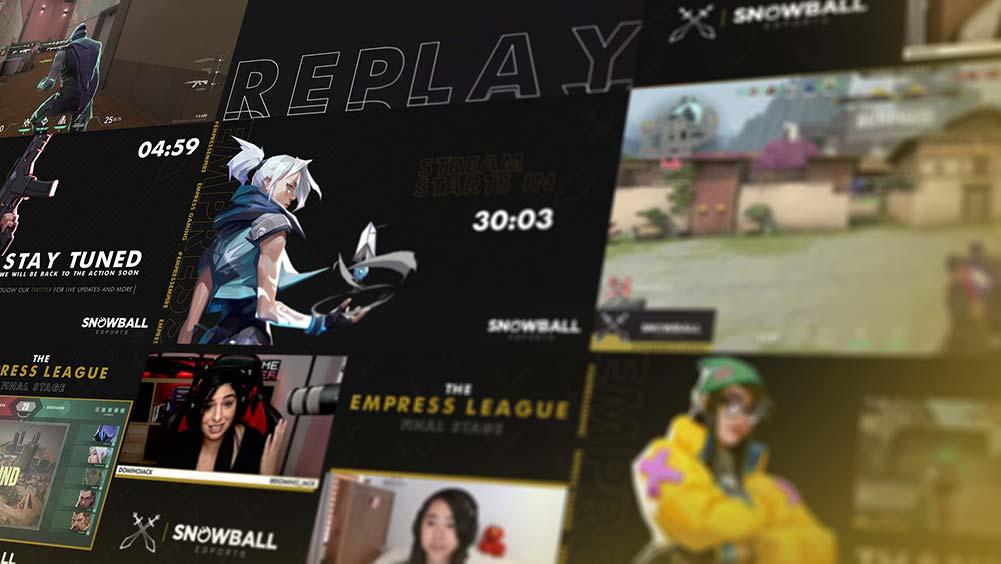 Empress Gaming stream overlays
