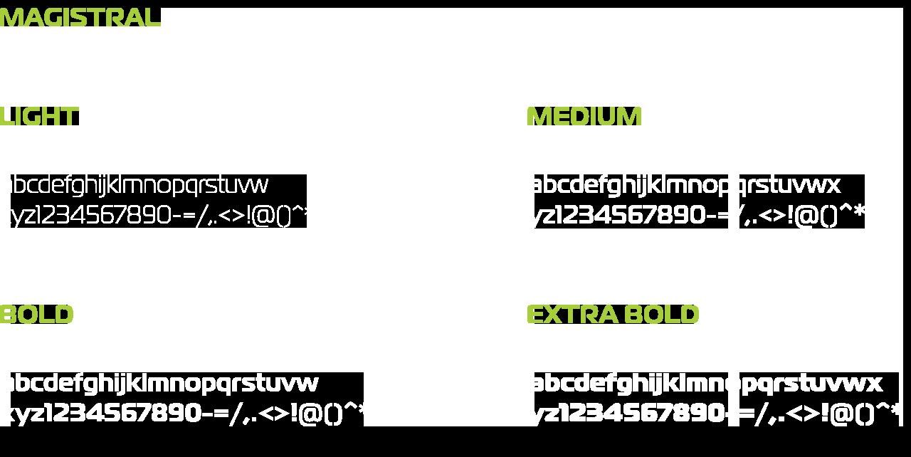 Legacy esports fonts used