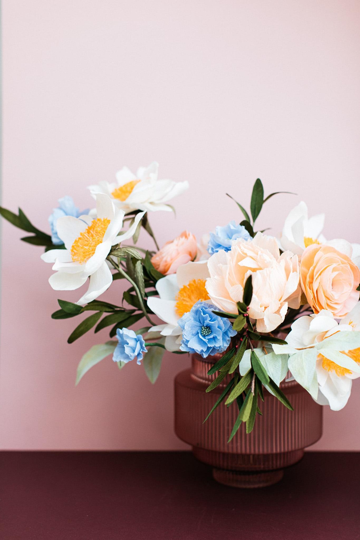 Bespoke Paper Flowers Arrangement