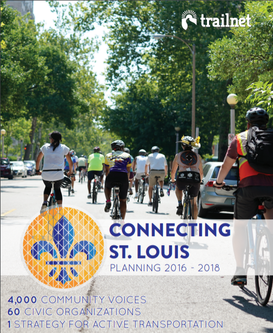 Cover of the Connecting St. Louis Plan document