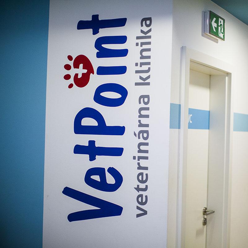 Priestory veterinarnej kliniky VetPoint