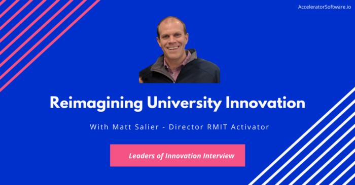 Reimagining University Innovation
