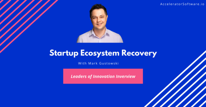 Startup Ecosystem Recovery & The Role of Government