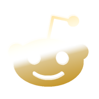 Gold Reddit Icon