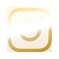 Gold Instagram Icon