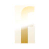 Gold Facebook Icon