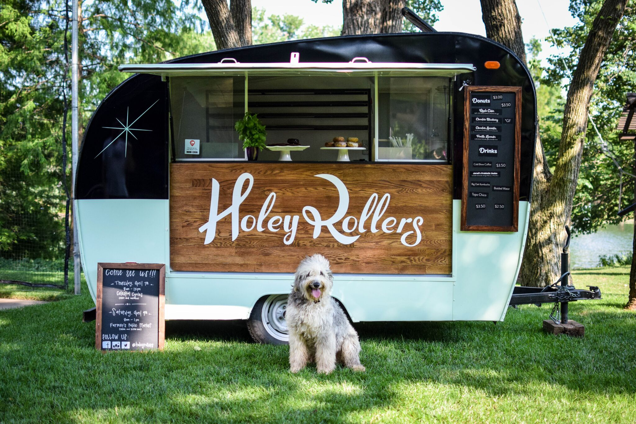Holey Rollers Trailer