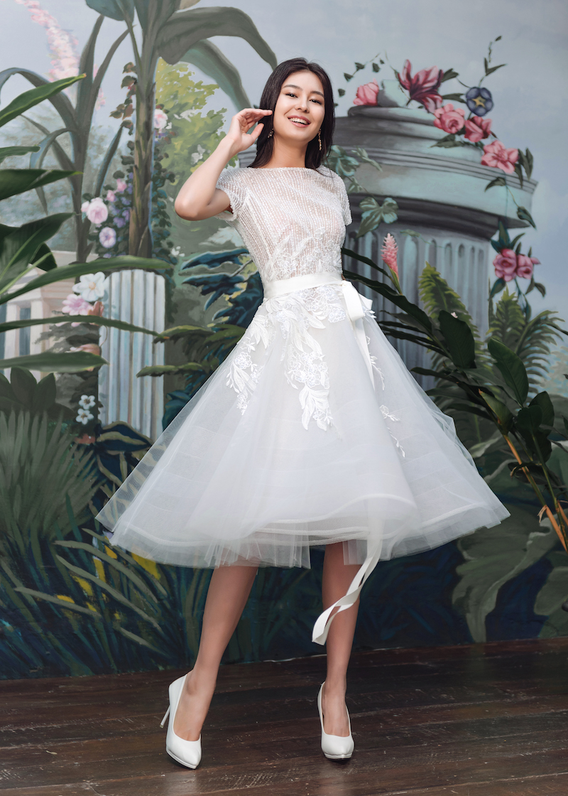 Spring/Summer 2019 Bridal Collection Look 09