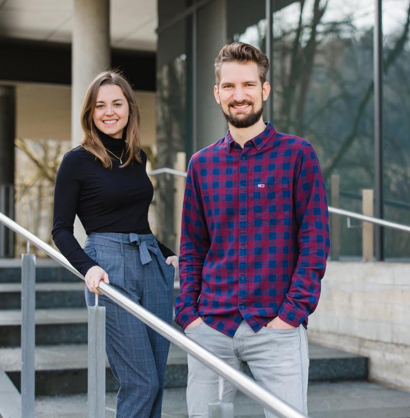 Sarah Stemmler und Sebastian Henneberg sind die Köpfe hinter synsugar