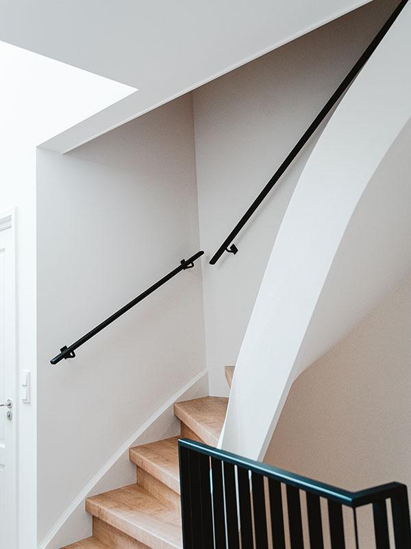 Stalen trapleuning en balustrade