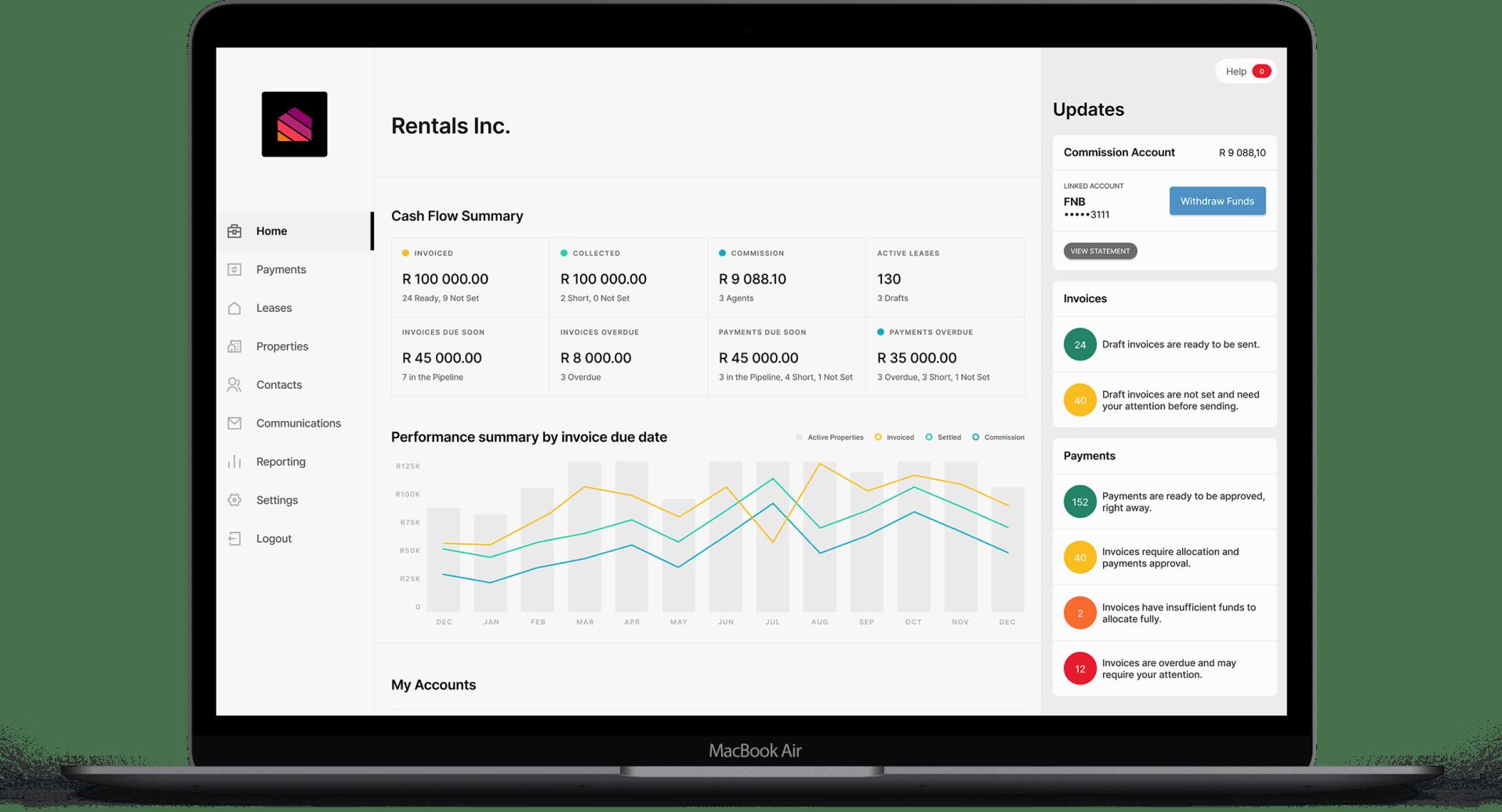 reOS Rental Management Tool