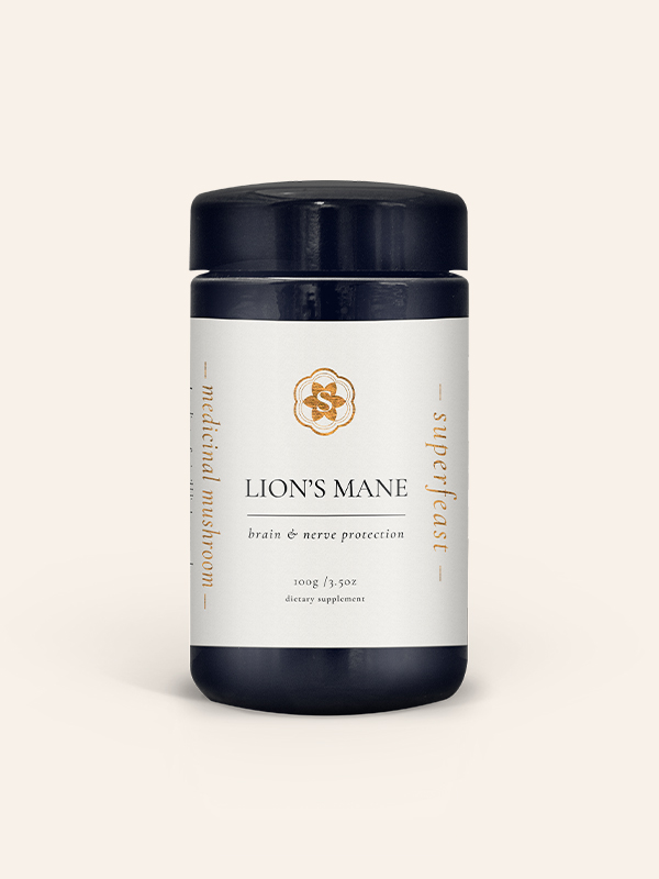 Lions Mane Brain and Nerve Protection