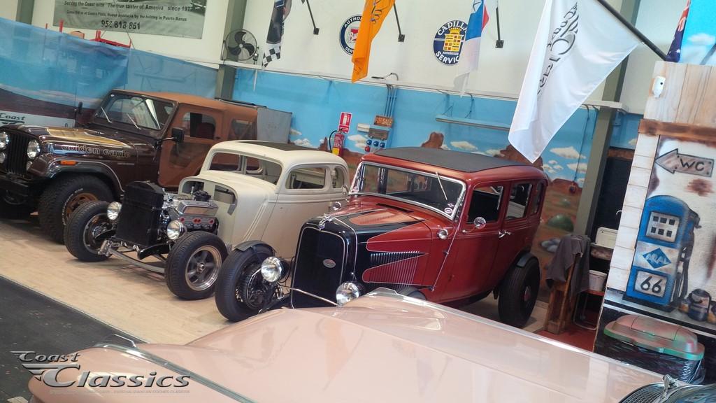 Classic Car Workshop in Spain