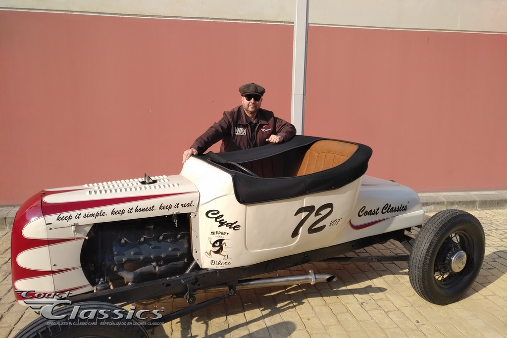 Hot Rod with Andreas Ullstein In Spain