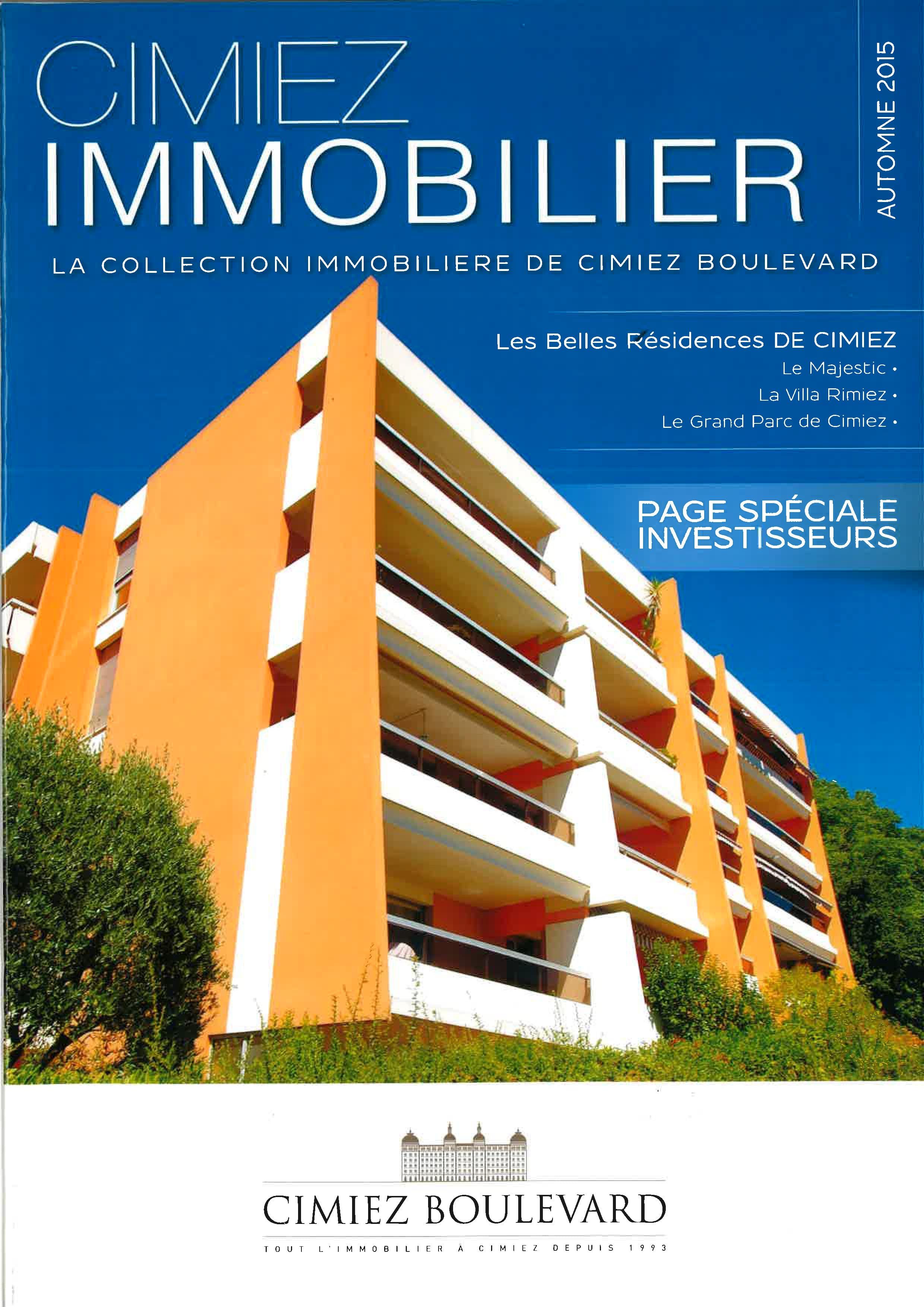 Immobilier Cimiez Nice
