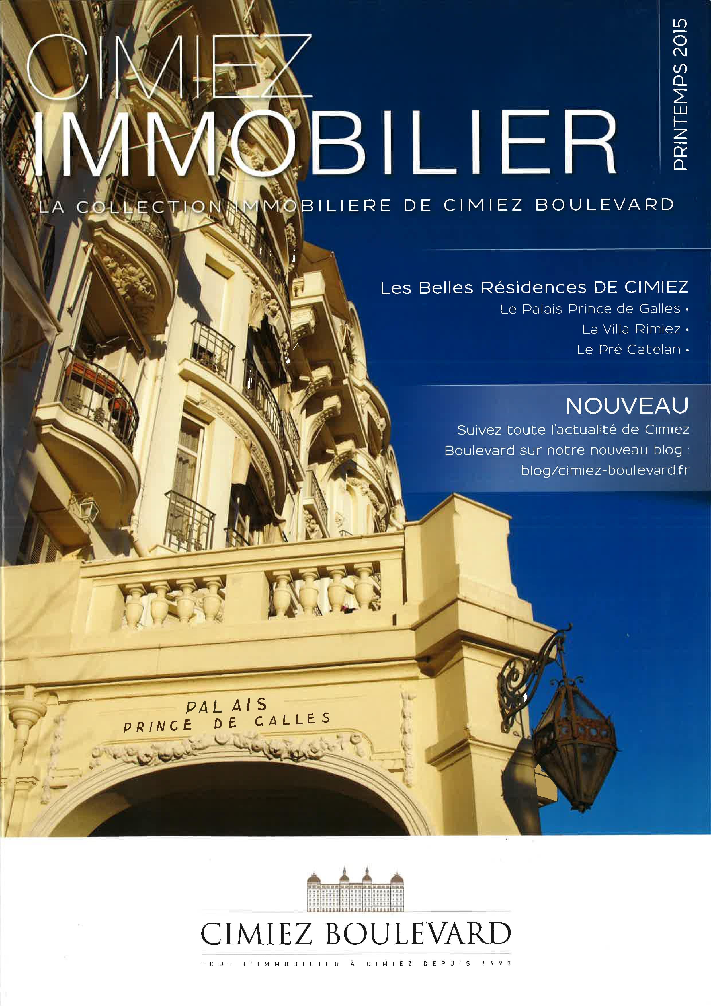 Magazine Cimiez Immobilier Nice