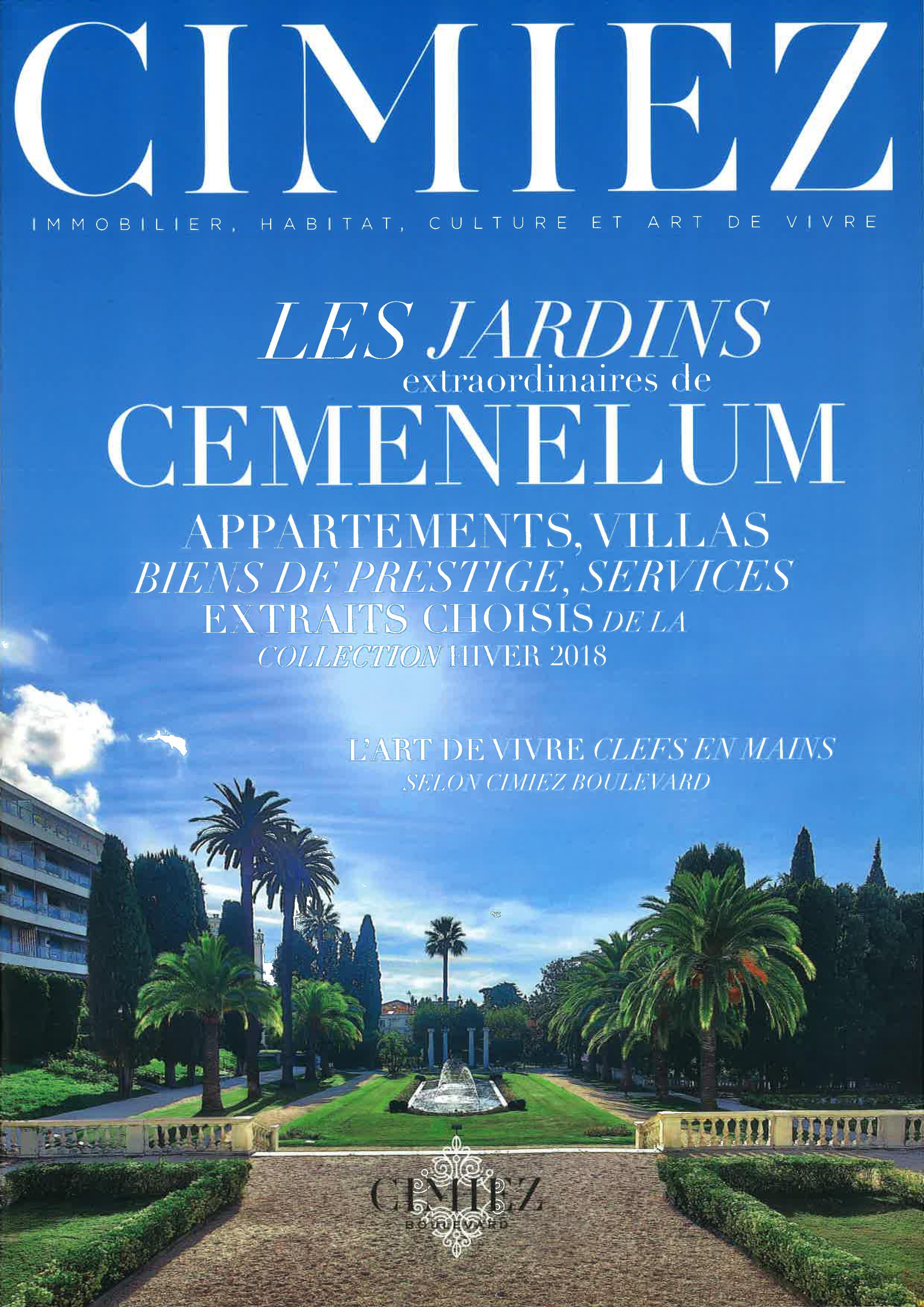 Cimiez Immobilier Jardins de Cemenelum