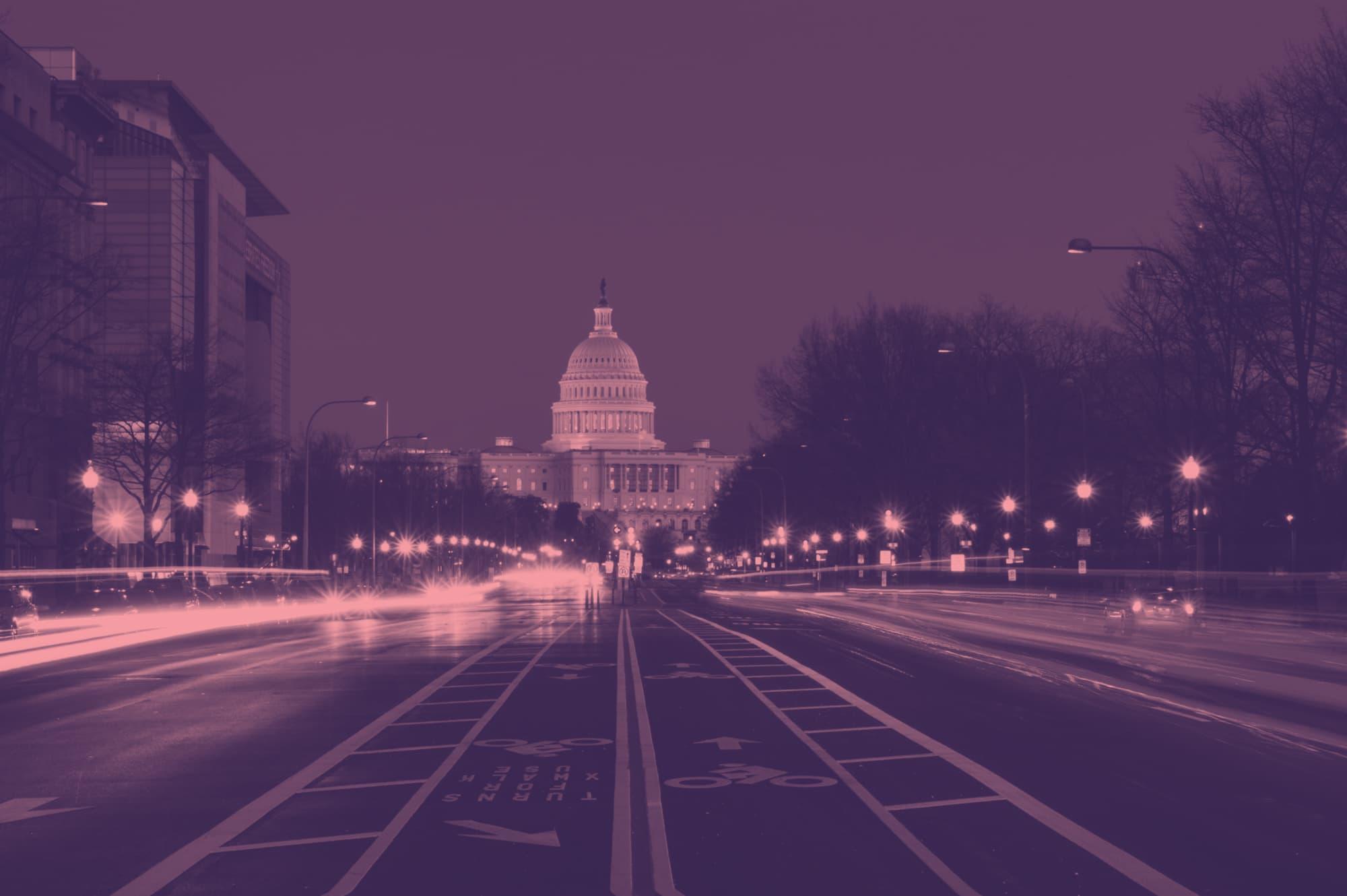 Image of Pennsylvania Ave NW in Washington, DC