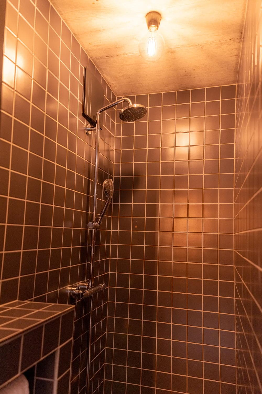 Ansicht der Dusche