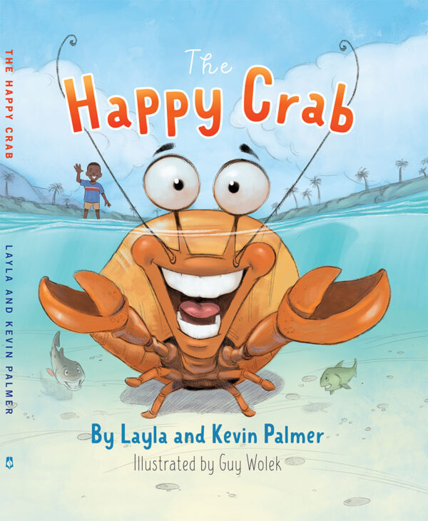 The Happy Crab Book Cover