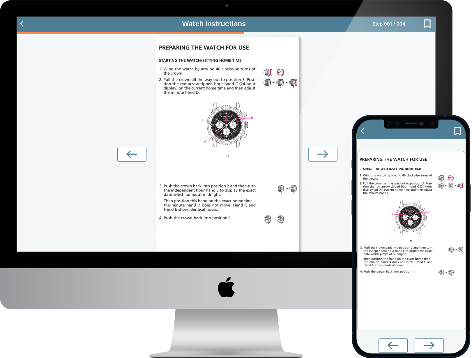 Dux platform mobile desktop follower